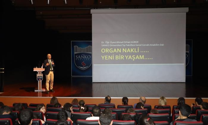 Sanko Okulları'nda Organ Bağışı anlatıldı