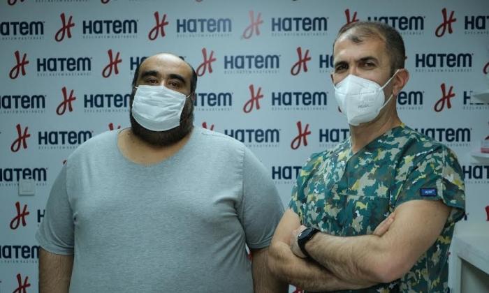 230 kg'lık Hasta Hatem'de obezite ameliyatı oldu