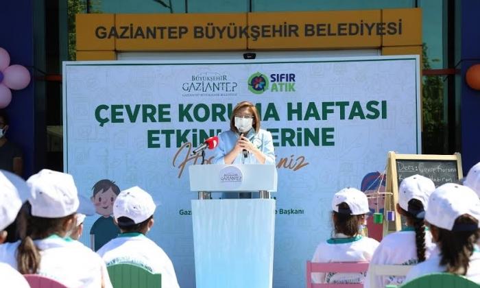 Fatma Şahin Çevre Günü'nü çocuklarla kutladı