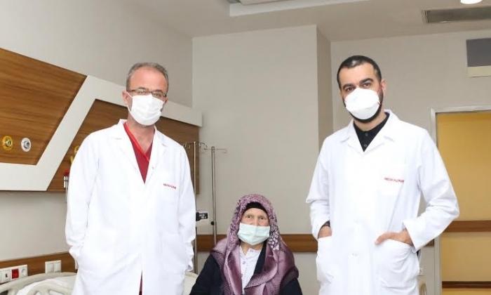 Van'da evine gönderildi Medical Park'ta tedavi edildi