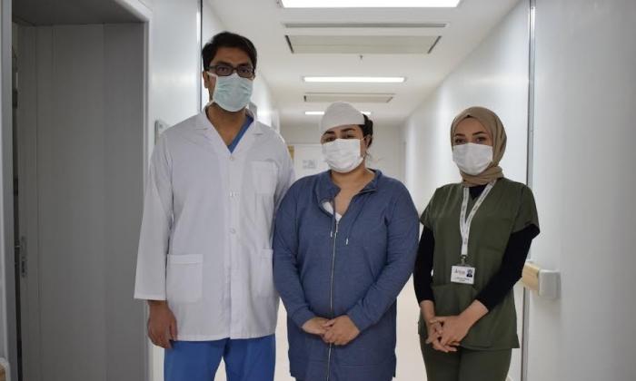 Iraklı Hasta Tümörden Anka'da kurtuldu