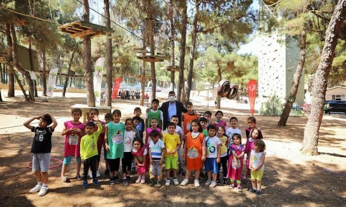 Şehitkamil Gençlik Kampları katkı sağlıyor