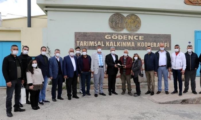 NTO Meclis Başkanı Karabacak Zeytincilik inceleme gezisine katıldı
